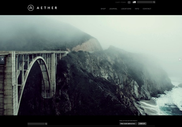 Aether website