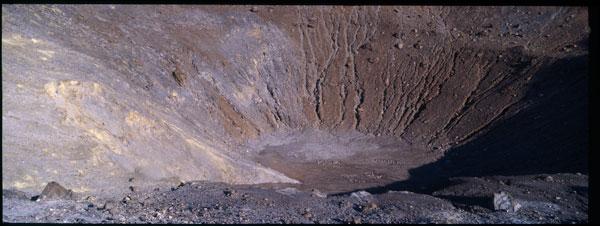 Vulcano crater scan